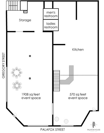 Palafox House layout